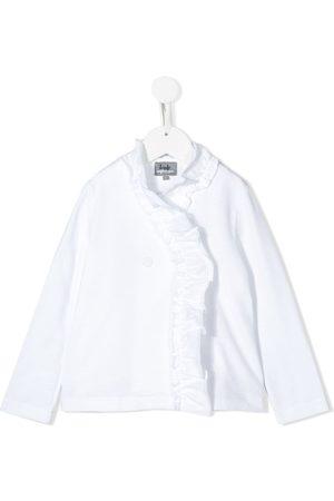 Il gufo Frill-trimmed cotton sweatshirt