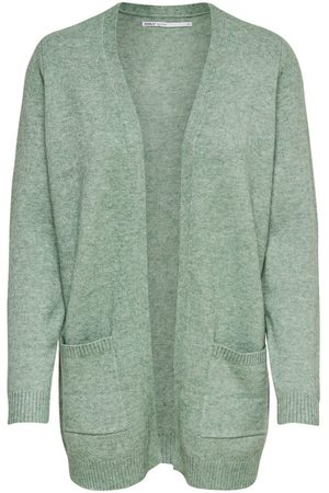 Only Open Knitted Cardigan Dames Green