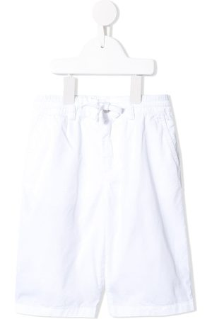 Dolce & Gabbana Logo-embroidered bermuda shorts
