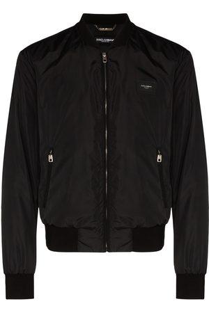 Dolce & Gabbana Logo plaque bomber jacket