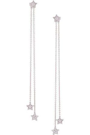 ALINKA STASIA' diamond chain drop earrings