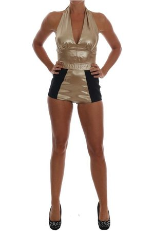 Dolce & Gabbana Silk Stretch Romper Body