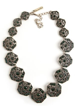 Oscar de la Renta Geometrical necklace