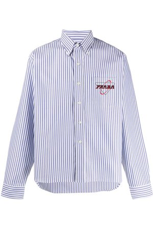 Prada Striped button down shirt