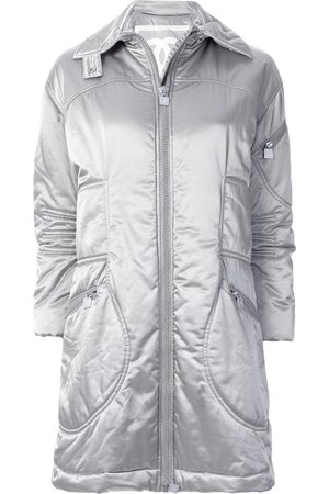 CHANEL Sports Line padded belted coat