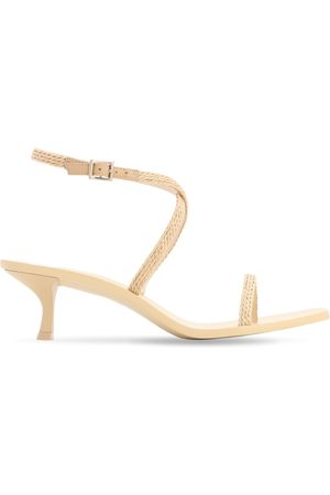 Cult Gaia 30mm Banu Faux Leather Sandals