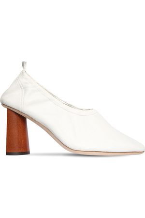 REJINA PYO 80mm Leather Pumps