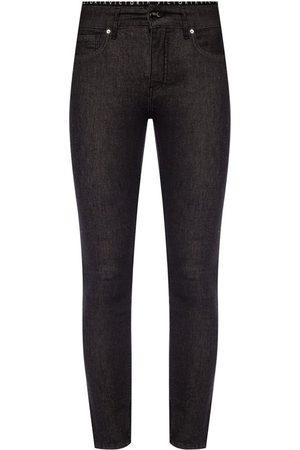 Victoria Beckham Logo tape jeans