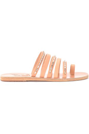 Ancient Greek Sandals Niki Diamonds leather sandal