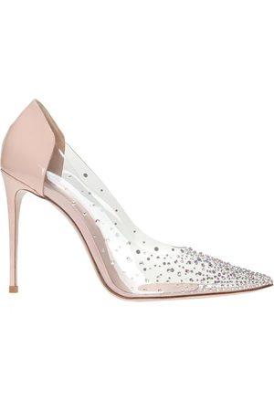 LE SILLA 'Nicole transparent stiletto pumps