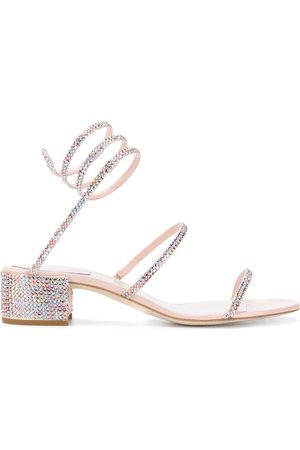 RENÉ CAOVILLA Spiral sandals