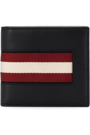 Bally Striped trim bifold wallet