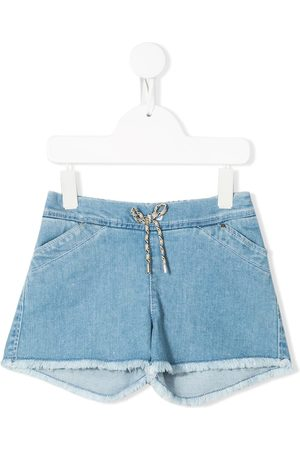 Chloé Drawstring waist denim shorts