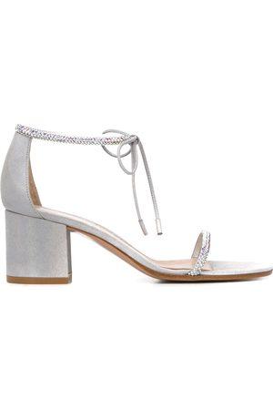 Gianvito Rossi Embellished mid-heel sandals