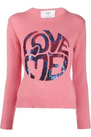 Alberta Ferretti Love Me knitted jumper