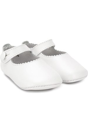 Gallucci Kids Scallop-edge ballerinas