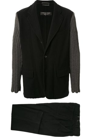 Junya Watanabe Comme des Garçons Pre-Owned Knitted sleeves two-piece suit