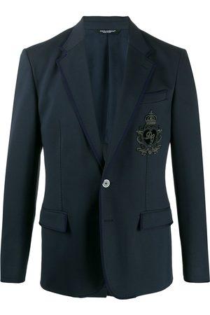 Dolce & Gabbana Heren Donsjassen - DG patch blazer