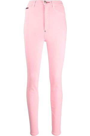 Philipp Plein Super high-rise jeggings