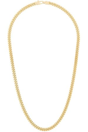 Tom Wood Heren Kettingen - Plated sterling silver curb chain necklace
