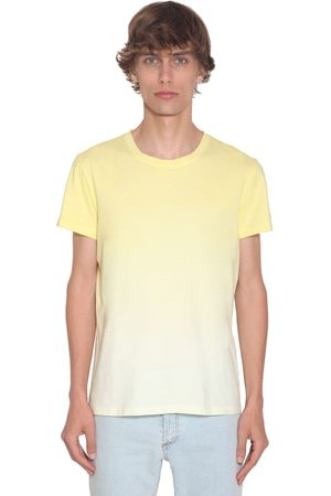 Balmain Degrade Dyed Cotton Jersey T-shirt