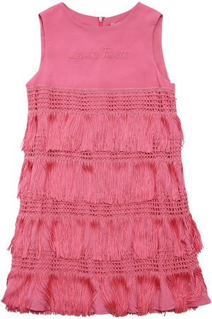 Alberta Ferretti Fringes Party Dress