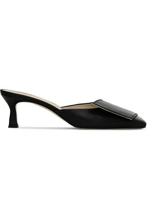 Wandler Isa 55mm heeled mules