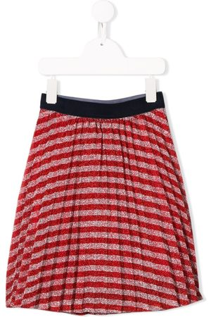 Marc Jacobs Striped pleated skirt