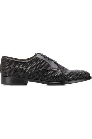Silvano Sassetti Weaved derby shoes