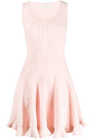 Alexander McQueen Flared knit dress