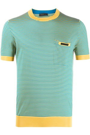 Prada Striped knitted T-shirt