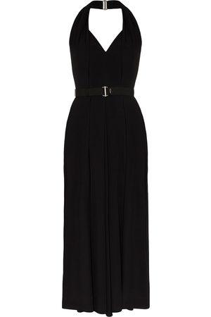 Prada Belted halterneck dress