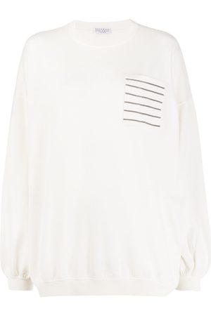 Brunello Cucinelli Monili-embellished jumper