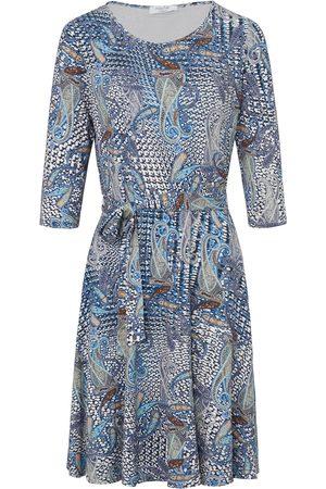 mayfair by Peter Hahn Dames Jersey jurken - Jerseyjurk 3/4-mouwen Van multicolour