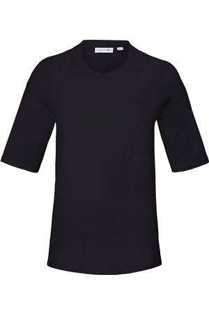 Lacoste Dames T-shirts - Shirt 100% katoen ronde hals Van