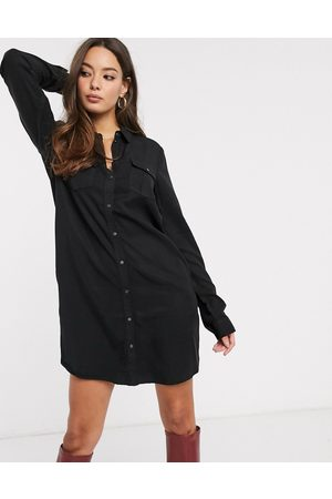 Vero Moda Shirt dress in black