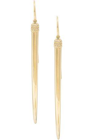 SHAUN LEANE No.1 diamond long earrings