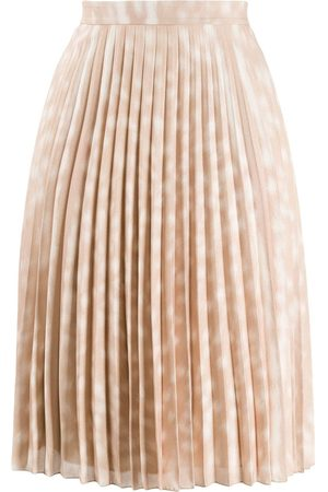 Burberry Dames Geprinte rokken - Deer print pleated skirt
