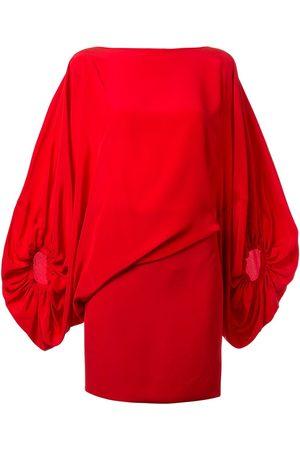 Silvia Tcherassi Dames Asymmetrische jurken - Genara asymmetric balloon-sleeved mini dress