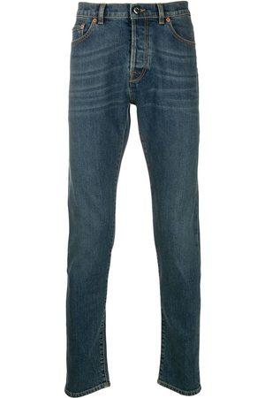 VALENTINO Heren Slim - Rockstud-embellished slim-fit jeans