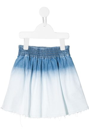 Stella McCartney Bleached denim skirt