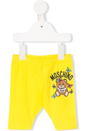 Moschino Logo slim-fit trousers