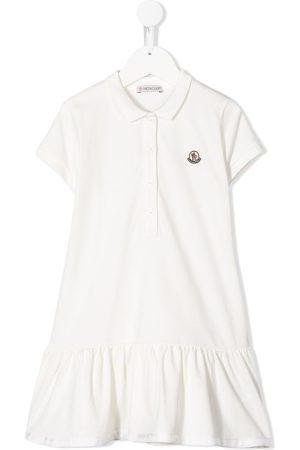 Moncler Logo patch polo dress
