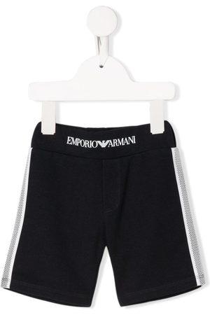 Emporio Armani Side stripe detail sweat shorts