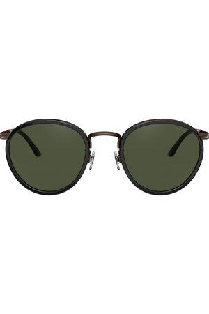 Armani Round tinted sunglasses