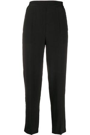 Etro High rise straight leg trousers