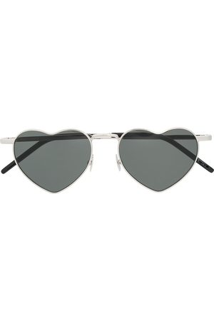 Saint Laurent Heart shaped sunglasses
