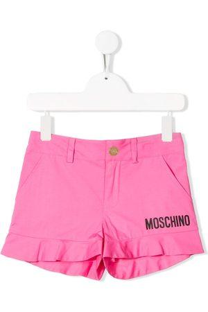 Moschino Logo detail shorts