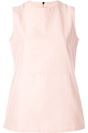 Bambah Sleeveless round-neck top