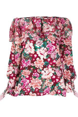 FAITH CONNEXION Floral print tunic dress